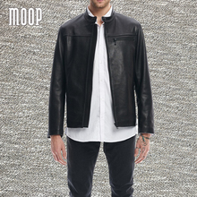 American type black real leather-based coat males lambskin informal jackets chaqueta moto hombre veste cuir homme cappotto LT1366