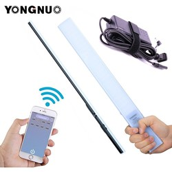 YONGNUO YN360 YN360S 3200k-5500k Handheld LED Video Light Phone App Control LED Lighting Stick + AC adapter For Wedding Shotting