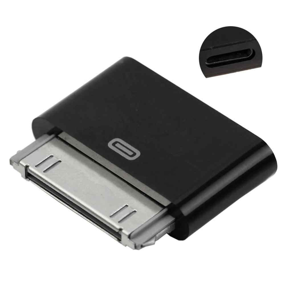 Convertidor adaptador macho de 8 pines hembra a 30 pines para iPhone 4 4S iPad 2 3 iPod Touch 4