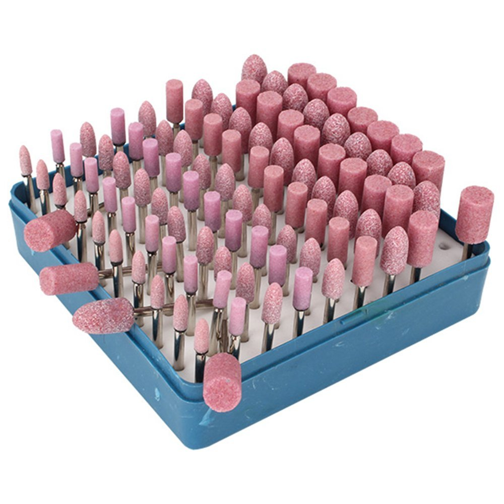 150PCS Mounted Grinding Stone Polishing Grinder Drill Bits