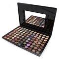 Nuevo Maquillaje Profesional de 88 Colores De Alto Brillo Paleta de Sombra de ojos Shimmer Women Baked Sombra de Ojos Maquillaje Conjunto Con El Cepillo Cosmético