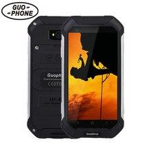 """4,5 """"GuoPhone V19 Telefon Mit IP68 MTK6580 Android 5.1 3G GPS 2 GBRAM 16 GBROM 4,5 Zoll Bildschirm Stoßfest wasserdichte SmartPhone"""