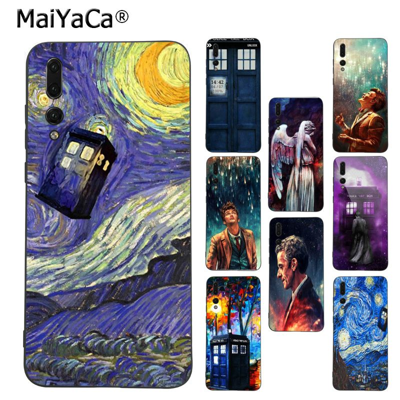 Generous Maiyaca Tardis Box Doctor Who Phone Case For Huawei P9 P10 Plus Mate9 10 Mate10 Lite P20 Pro Honor10 View10 Pleasant In After-Taste Half-wrapped Case Cellphones & Telecommunications