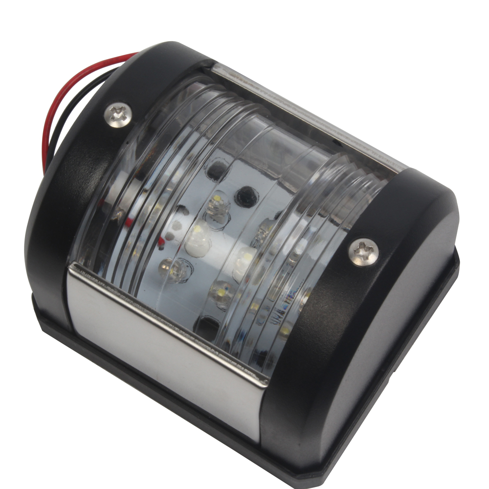 Image 2 - 12V Marine Boat Yacht Stern Light Signal Lamp Navigation LED White Light Port Light-in Marine Hardware from Automobiles & Motorcycles