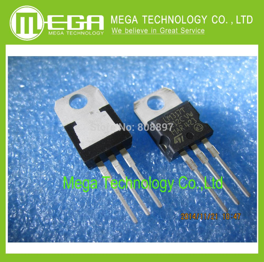 !!!10PCS LM317 LM317T TO-220 Regulated power supply Three-terminal voltage regulator