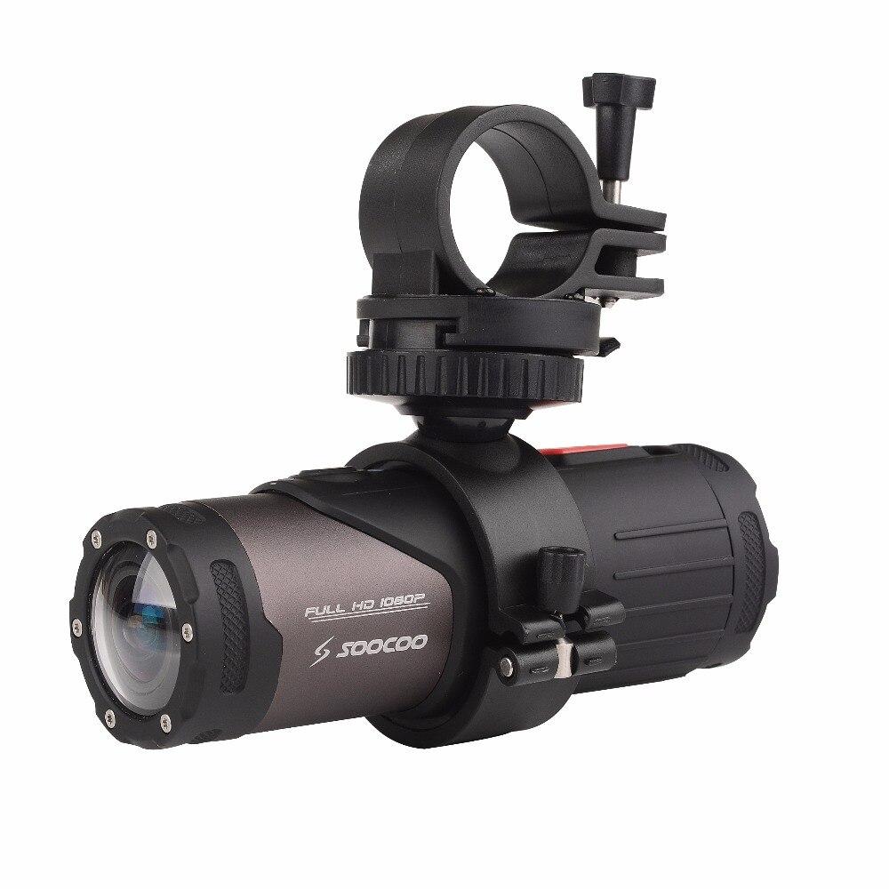 Caméra d'action originale de SOOCOO S20WS, imperméable à l'eau 10 M 1080 P Full HD vélo vélo casque Mini colonne de Sport en plein air DV cam - 4