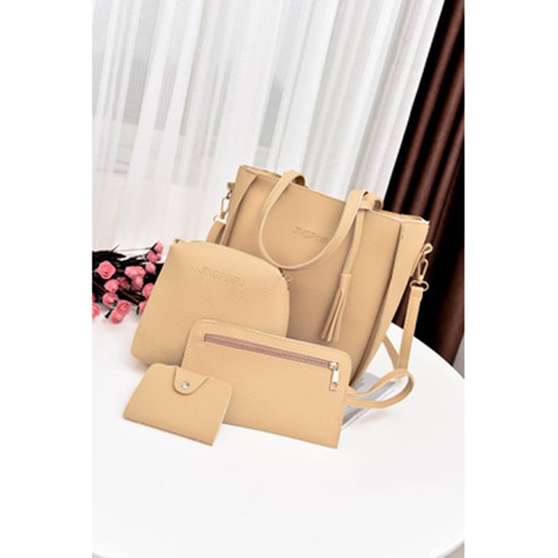 Women Top-Handle  Composite 3-Set Bag 5