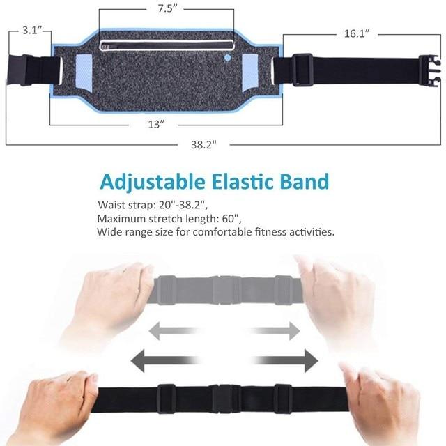 1 PC Ultralight Outdoor Running Bag Men Women Trail Waist Sport Mobile Phone Holder Belt Sport Accessories Lady Fitness Gear 4