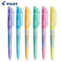 6 قطعة الطيار فريكسيون ضوء قابل للمسح هيغليغتر قلم مضيء SFL 10SL 6 لينة لون الحبر الكتابة اللوازم