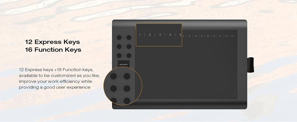 Limo 12 Dollar 急行キーペンタブレットデジタルグラフィックボードで描画するためのペンホルダー 11