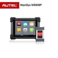 Autel MS908 MaxiSYS Pro MS908P Scanner con J2534 ECU Programmazione P OBDII/2 Diagnostic Tool da wifi Bluetooth