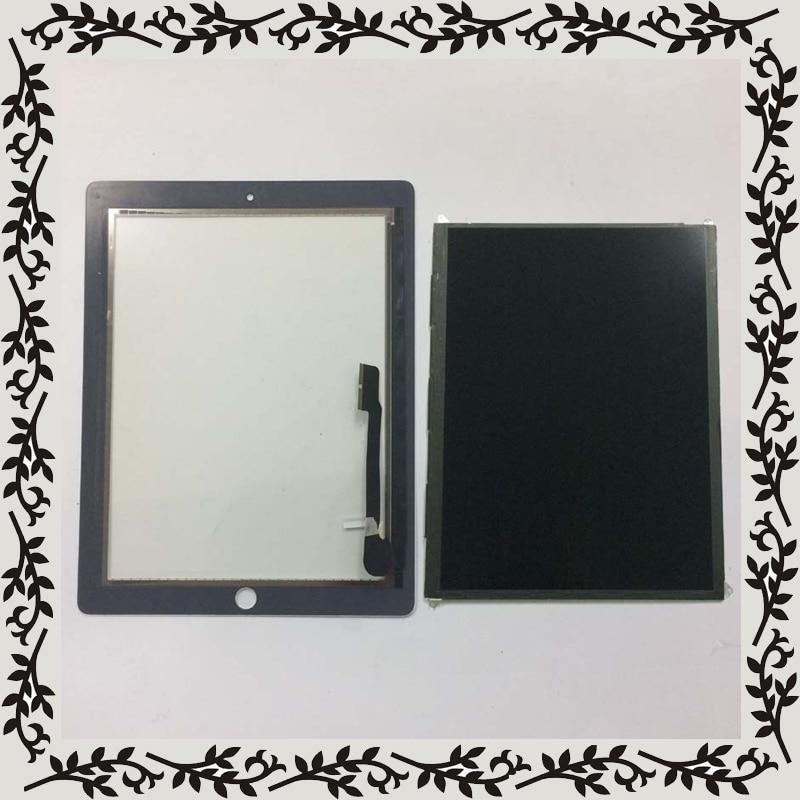 2 couleur Pour iPad 4 4th Gen A1458 A1459 A1460 LCD Moniteur D'affichage + Écran Tactile Digitizer Capteur En Verre