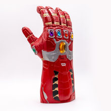 2019 novo thanos infinity gauntlet luvas cosplay super-herói thanos látex luva(China)