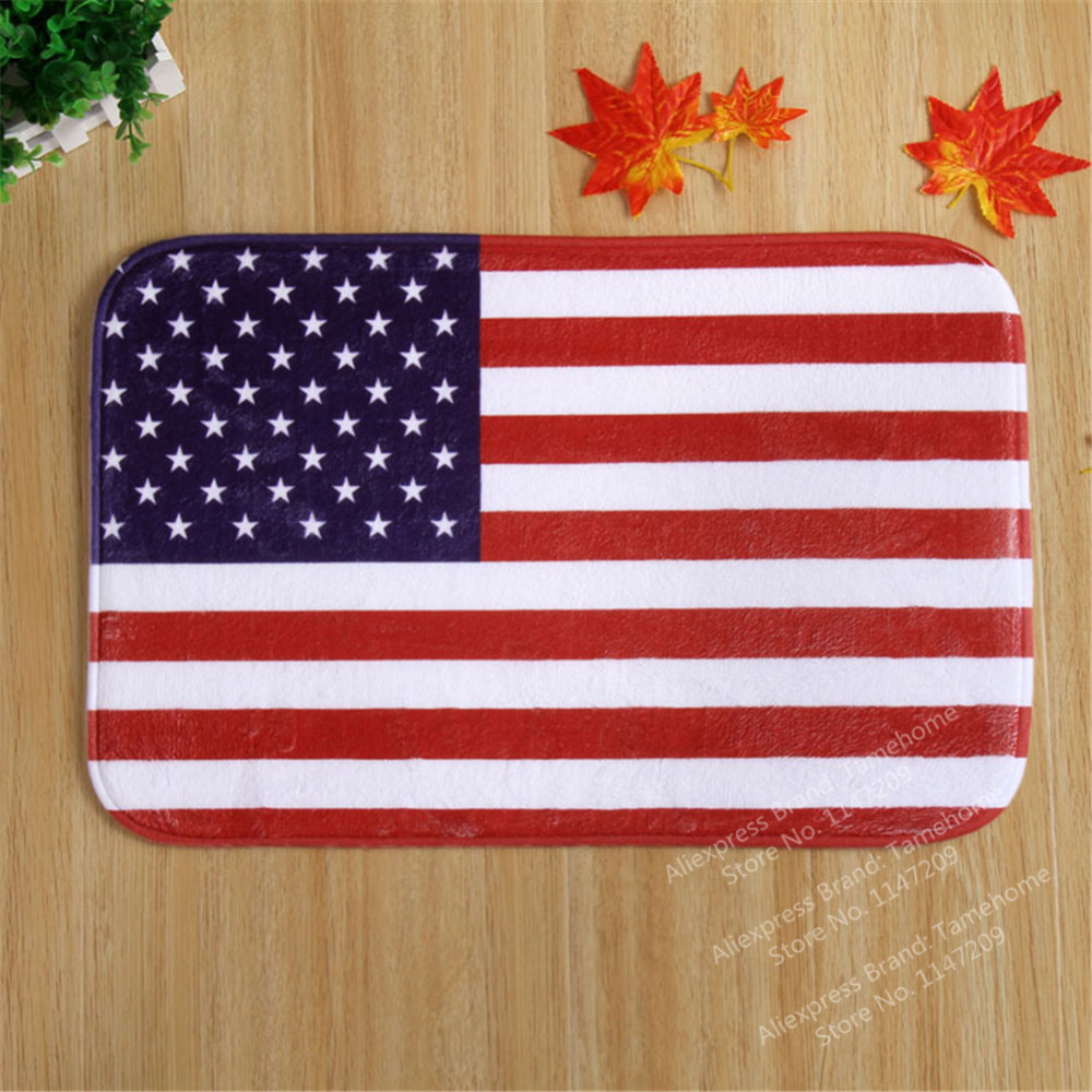 NiceRug British Flag Mat USA Carpet American Flag Rug Christmas Gift Animal  Printed Carpet Non Slip Rug Latex Backing In Mat From Home U0026 Garden On ...