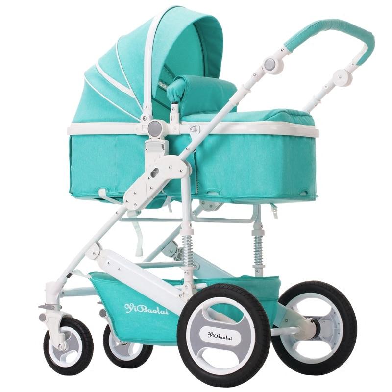 Wózek spacerowy wysoki krajobraz może siedzieć w wózku letnim i - Aktywność i sprzęt dla dzieci - Zdjęcie 5