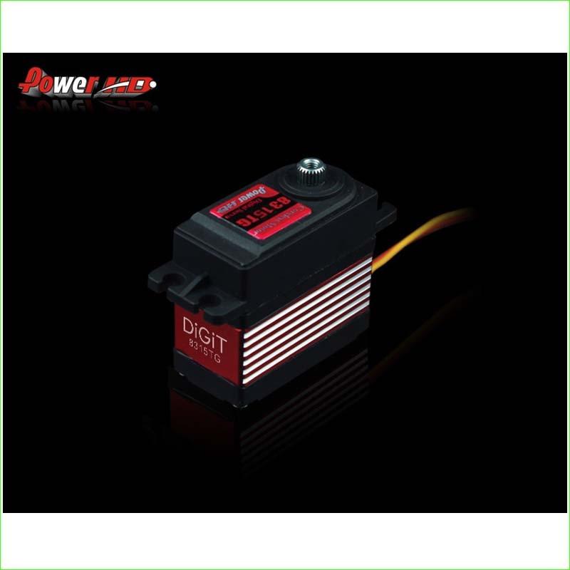 1pcs POWER HD-8315TG 16KG high torque metal gear digital servo suitable for Bigfoot car 0.16 sec (4.8V) 0.14 sec (6.0V) 1pcs power hd 8315tg 16kg high torque metal gear digital servo suitable for bigfoot car 0 16 sec 4 8v 0 14 sec 6 0v