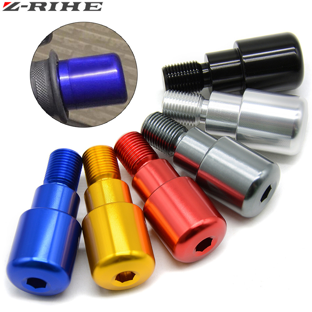 6 Colors CNC Motorcycle Aluminum Handle Bar Ends hand covers for YAMAHA MT 09 2014 2015 MT 10 FZ10 XJ6 2010 2013 2012 2011 in Handlebar from Automobiles Motorcycles