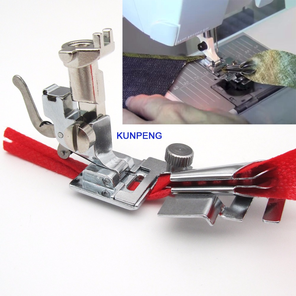 1SET Bias Binder Foot With Adapter FIT For BERNINA OLD