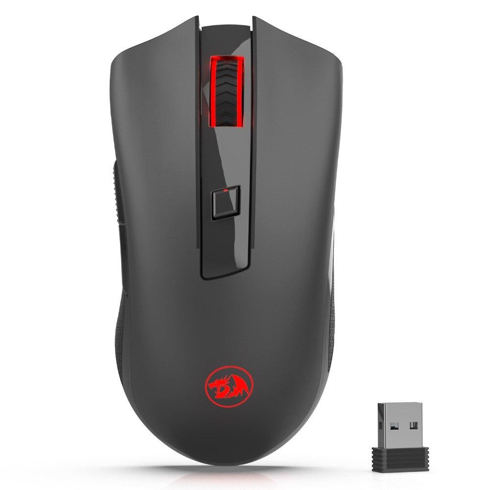 Redragon M652 2,4g Optische Drahtlose Maus mit USB Empfänger Protable Gaming Mäuse 5 Einstellbare DPI Ebenen 6 Tasten lol dota2 CS