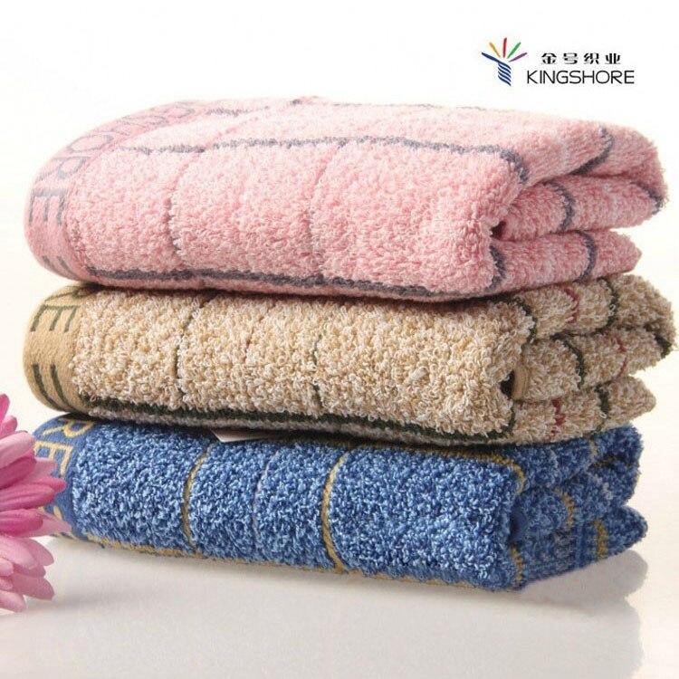 100% pur coton serviette géométrie treillis de mode salle de bain grande serviette de bain doux confortable absorbant l'eau de haute qualité dans Bath Towels de Maison & Jardin