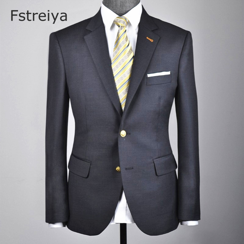 Customized Men Smart Casual wool suit custom made men clothing coustume homme slim fit tailored wedding with pants