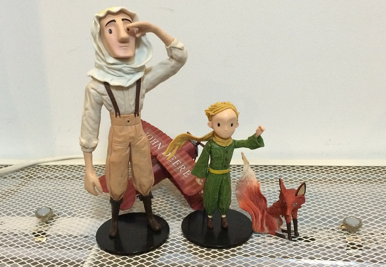 3.75 Inch Anime Model The Little Prince (Not Include Airplane)Collection Model Doll Toys, A Birthday Present Free Shipping