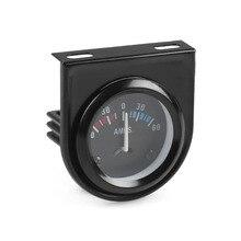 AMP meter gauge 2″ 52mm 60-0-60 AMP Meter 12 Volt boat truck atv AMP gauge Ammeter Car meter YC100006