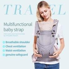 5812535feedd Universal de 360 todo-en-uno ergonómico bebé recién nacido Niño ajustable canguro  bebé transpirable mochila Hipseat