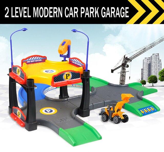 Diy Kit 2 nivel moderno parque garaje gasolinera garaje juego Set ...