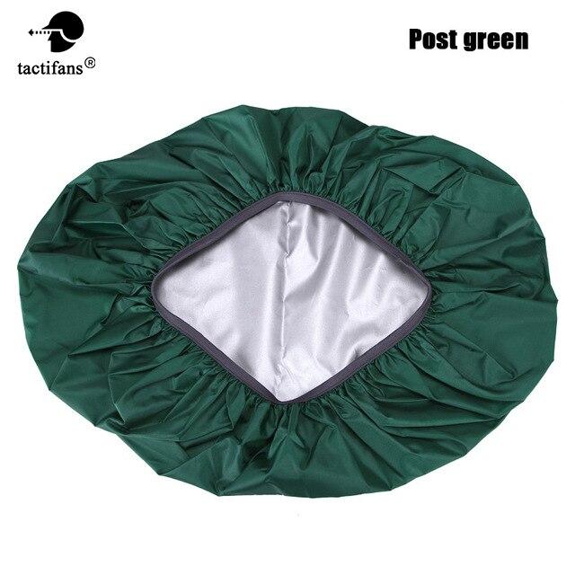 80L 190D Bag Rain Cover Protable Waterproof Anti-tear Dustproof Anti-UV Backpack Camping Hiking Silver Coating 8 Colors