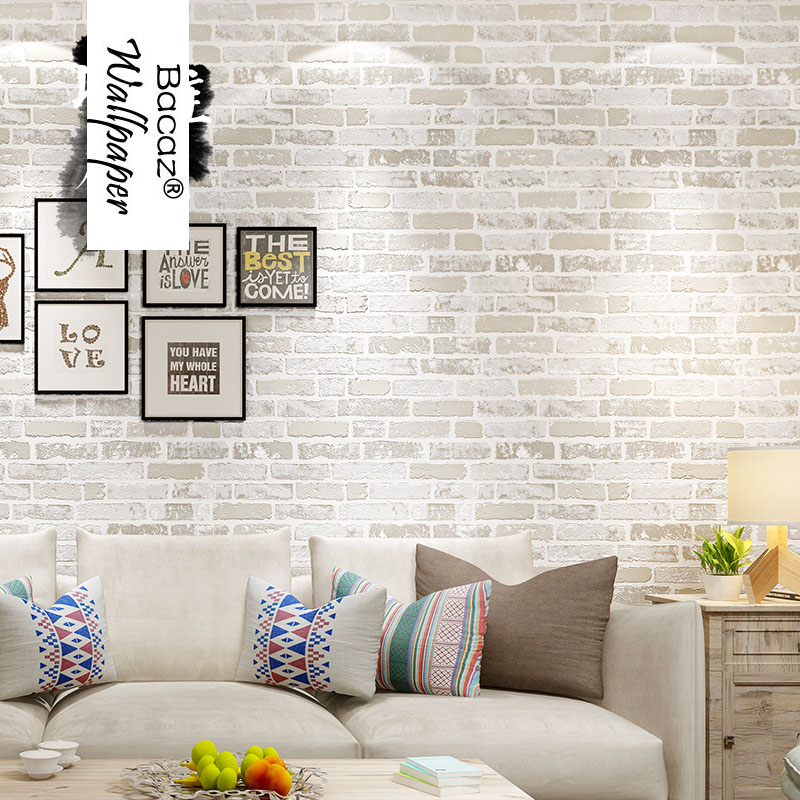 3d Papel de parede 3D Bricks Wallpaper Rolls for Livinging Room 3D Stone Wall paper background 3d vinyl wall coverings Roll 3d papel de parede 3d wall panels wallpaper rolls 3d wood wallpaper for babershop cafe bar 3d stripe wall paper roll decor