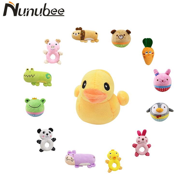 Nunubee Animal Toys Pet Sound Toys Squeaker Squeak Suitable For Pet Bite Play Funny toy for dogs 18 designs
