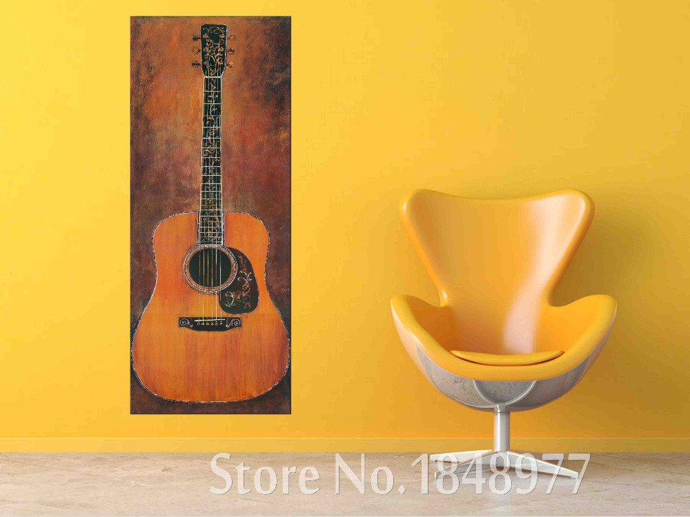 Funky Acoustic Guitar Wall Decorations Ideas - Wall Art Design ...