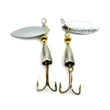 1Pc Metal Spinner Shine Lures Metal Spoon Fishing Bait with Hook Fishing Gears CrankBait Bass Tackle Hook