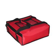 12'' bolsas termicas para pizzas pizza thermos bag pizza liefern portable delivery bags insulation Thick ice pack with baseboard