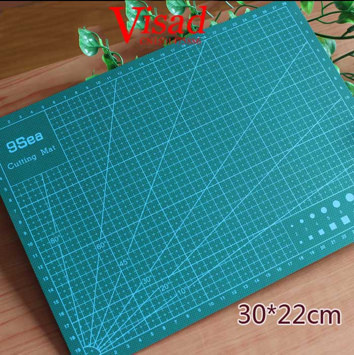 Pvc Cutting Mat Tool A4 Craft Dark Green Patchwork tools Cutting pad craft cutting board