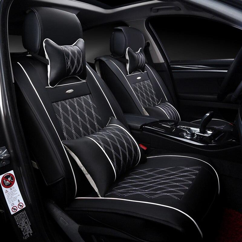 Cubierta de asiento de coche 3D Sports Styling, Senior Leather, - Accesorios de interior de coche - foto 4