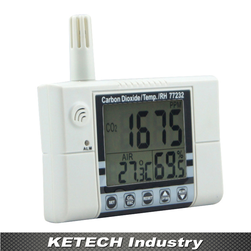 AZ Wall Mounting CO  Temperature  RH Monitor Tester