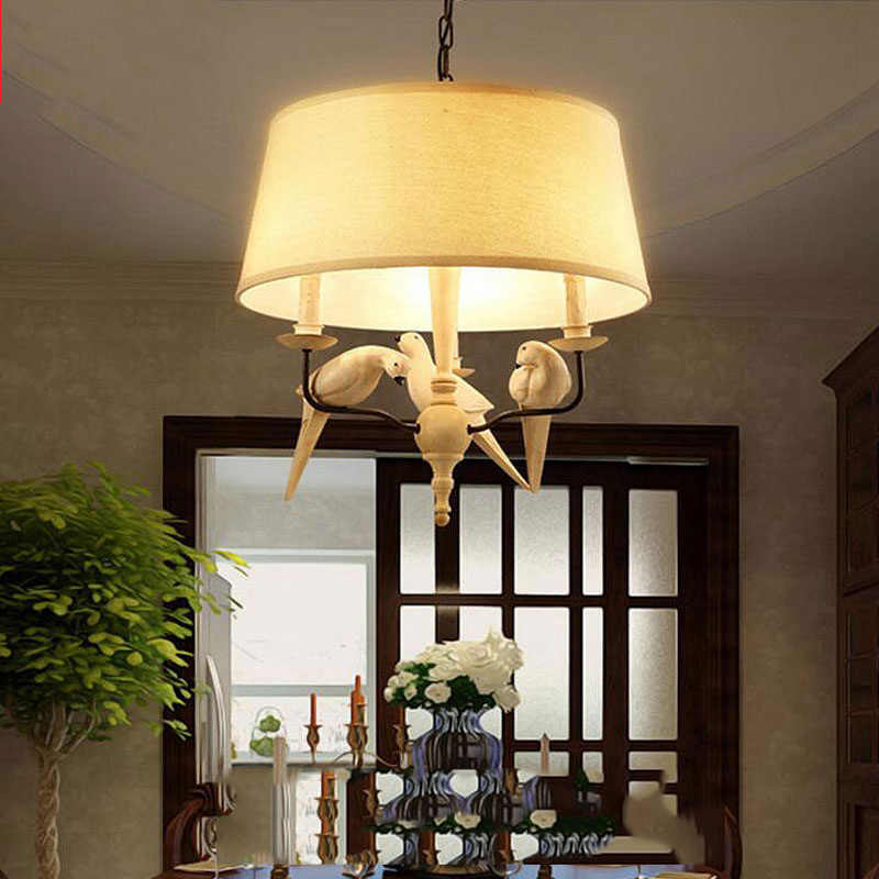 Bird LED Light Ceiling Chandelier Chandeliers Lamp Decor Living room Chandelier Lighting Hanging lamp Light Fixtures Lustre CIX5