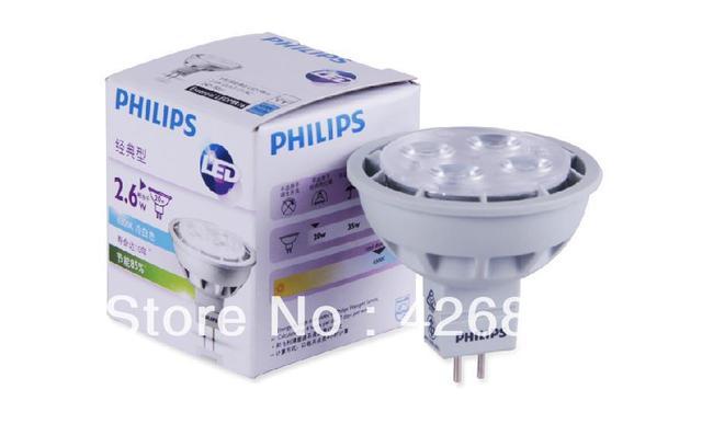 PHILIPS verlichting, Essentiële LED 3 20 W 2700 K 6500 K MR16 24D ...