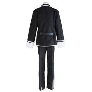 Image 3 - Anime Diabolik Lovers Sakamaki Ayato Cosplay Costume School Uniforms Halloween Party Wear Outfit Blazer Pants Tie Belt and wig