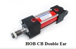 Tie rod hydraulic oil cylinder with 14MPA HOB80X100CB with double ear tie rod hydraulic oil cylinder with 14mpa hob40x200cb with double ear