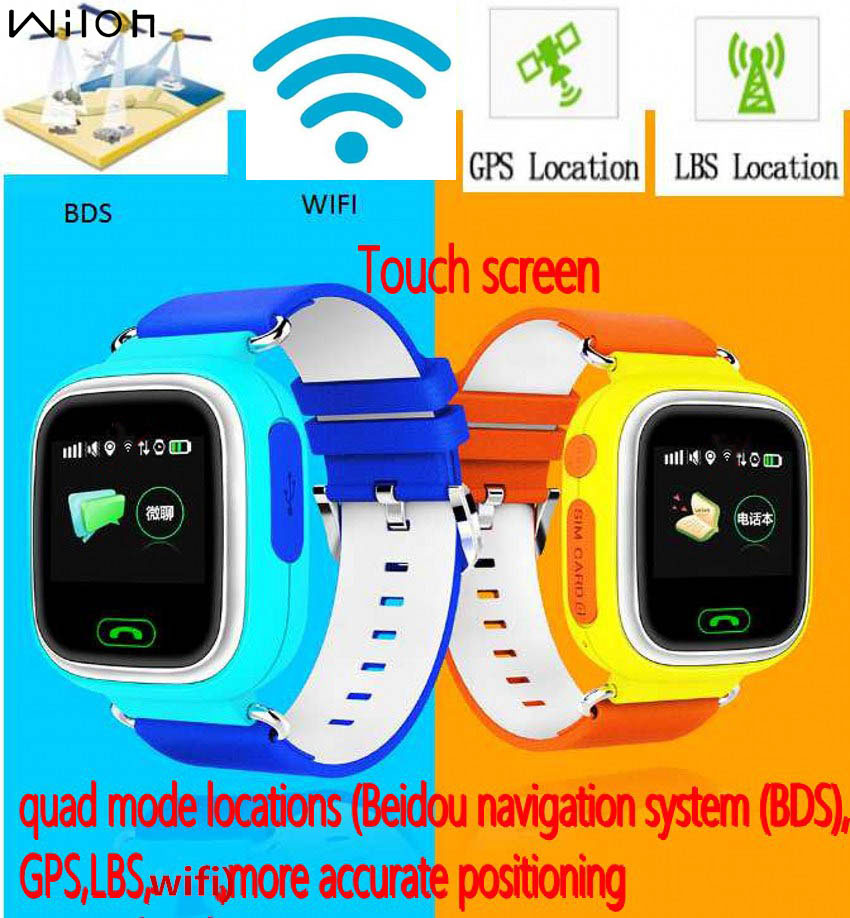 dhl baby watches 2017 gps tracking watches for kids q90 g72 touch screen sos call location. Black Bedroom Furniture Sets. Home Design Ideas