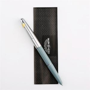 Image 5 - เหล็กโรงงานของแท้ HERO 100 STEEL 14K nib CLASSIC โบราณครูคอลเลกชันการประดิษฐ์ตัวอักษร Gift กล่องปากกา pimio