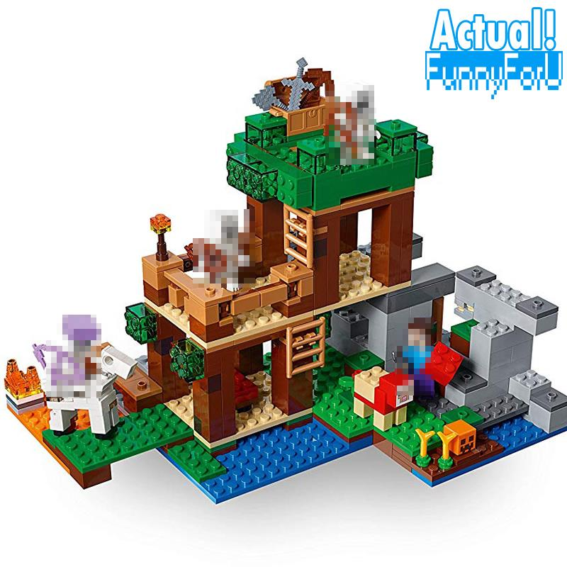 Lepin Minecraft My World the Skull Arena Building Blocks Bricks Mini anime action Figure Creator legoing toys for children gifts astroboy tetsuwan atom minifigures minecraft building blocks betty toby hedgehog girl birthday figure kids toys action 0751