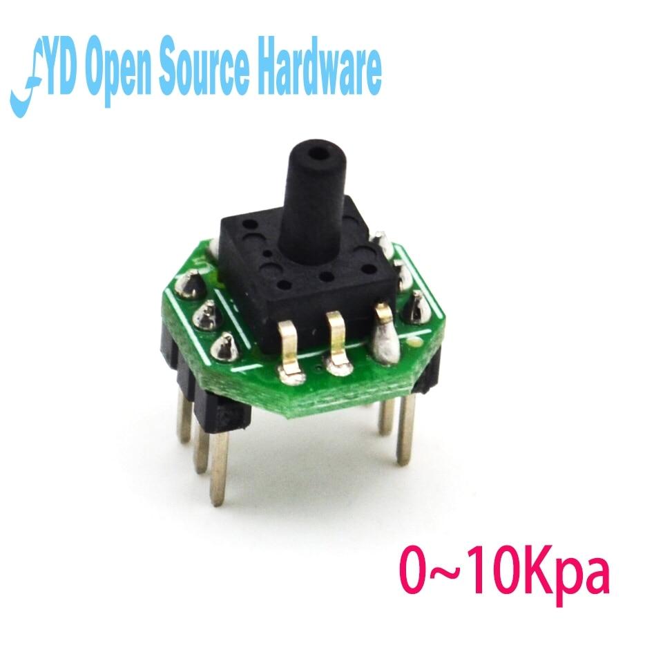 1pcs XGZP6847 0~10KPa pressure sensor transmitter module 0.5-4.5V1pcs XGZP6847 0~10KPa pressure sensor transmitter module 0.5-4.5V