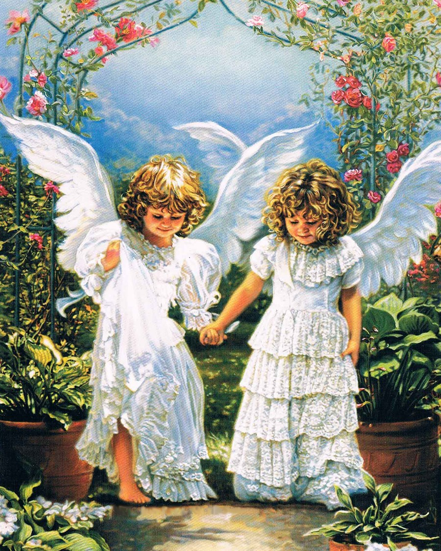 New Arrival Diamond painting People crystal cross stitch square diamond embroidery angels full rhinestone for home