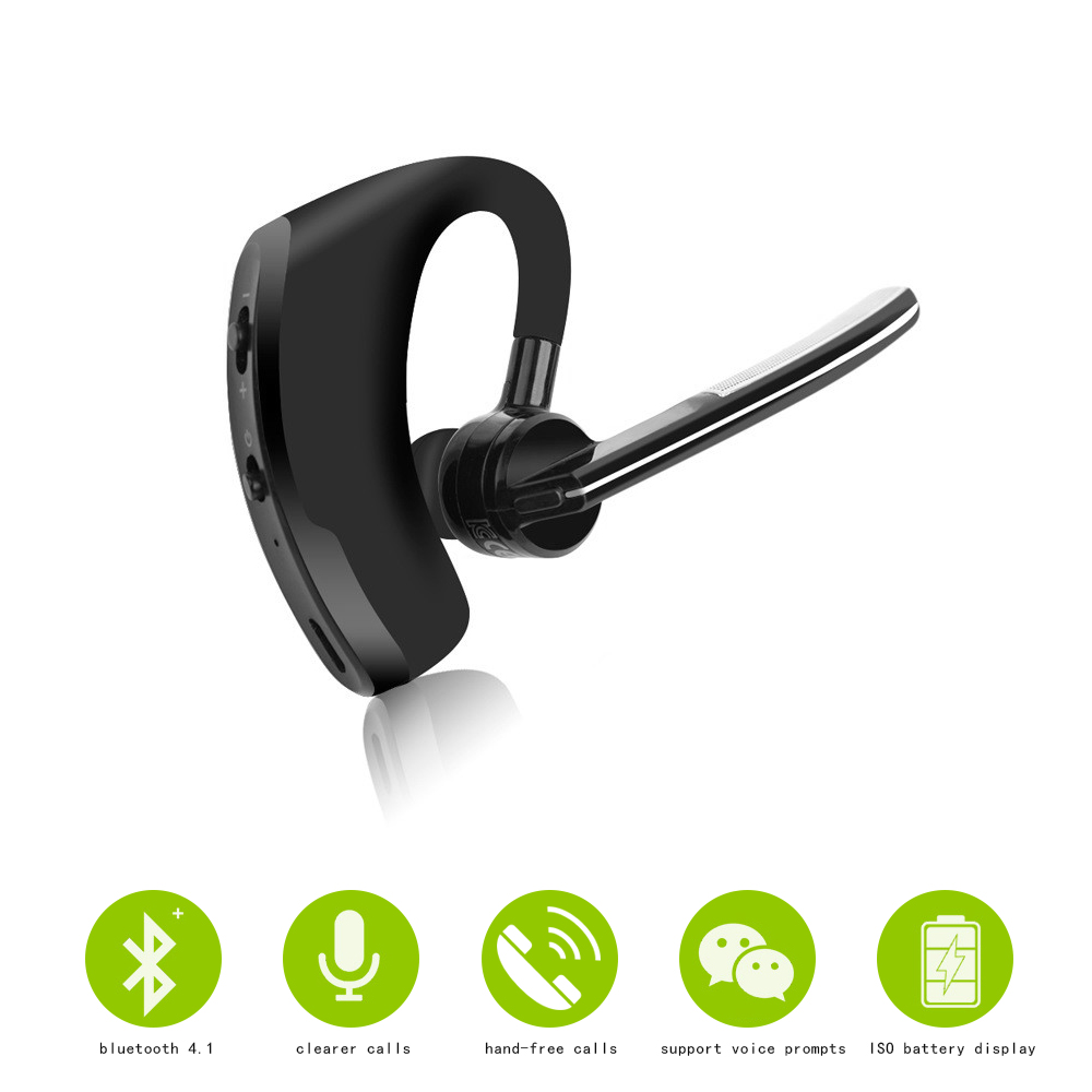 Business Wireless Bluetooth Mini Earphone Intelligent Headphones With MIC Sport Bass Headset For xiaomi huawei ihpone Smartphone wireless headphones bluetooth earphone with mic microphone bluetooth 4 1 headset sport headphones for iphone android xiaomi