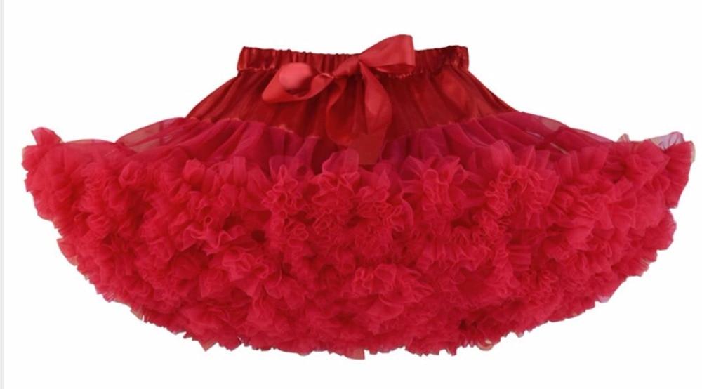 Petticoat lolita Woman Ruffle Tulle Puffy Underskirt Tutu Short Mini - Bruiloft accessoires - Foto 6
