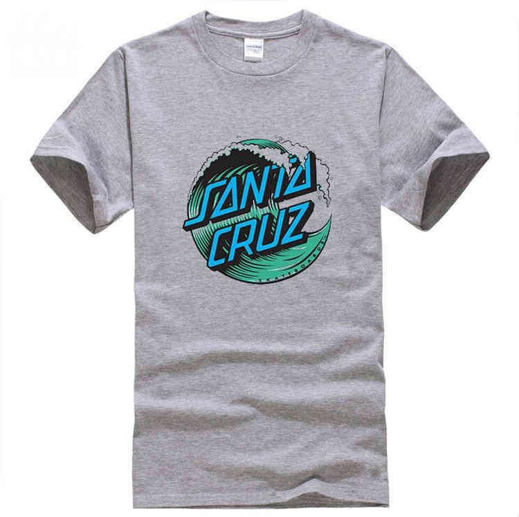 Top-Quality-OEM-Skateboard-Skate-Santa-Cruz-Men-T-Shirt-100-Cotton-Printed-Loose-T-shirt